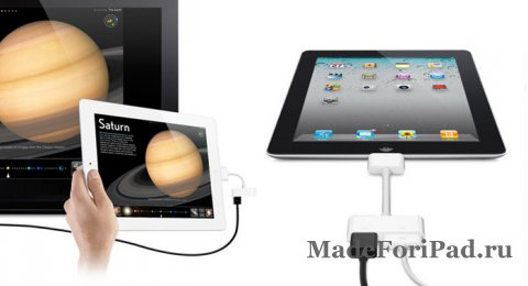 Адаптер Apple Digital AV HDMI - подключаем iPad к телевизору