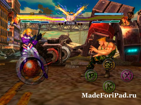 Игра Street Fighter X Tekken Mobile для iPad