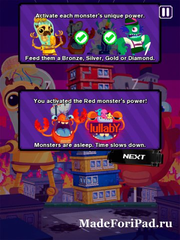 Игра Super Monsters Ate My Condo! для iPad