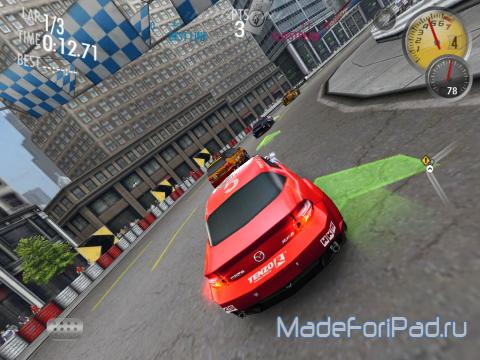 Игра Need for Speed Shift для iPad