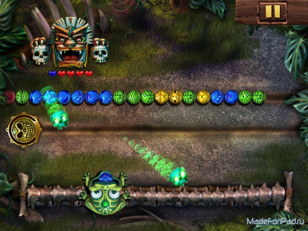 Игра Zuma's Revenge! для iPad | Все для iPad