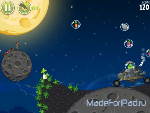 Игра Angry Birds Space для iPad