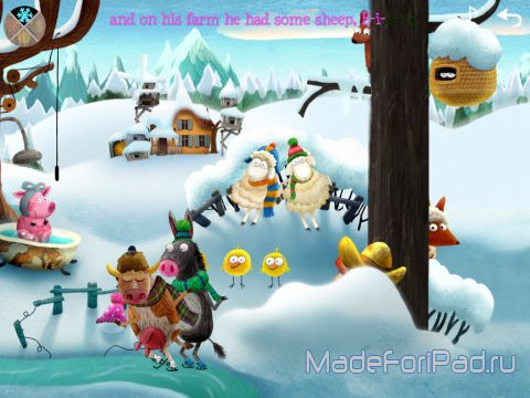 Приложение Little Fox Music Box – Kids songs – Sing along для iPad