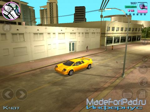Игра Grand Theft Auto: Vice City для iPad