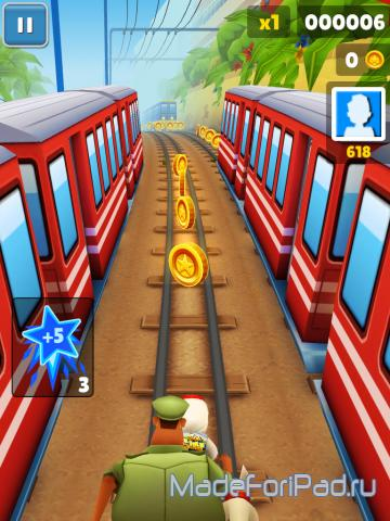 Игра Subway Surfers для iPad