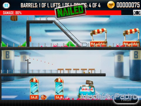 Игра Bullistic Unleashed для iPad