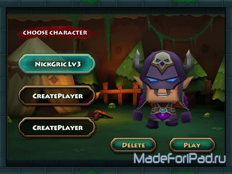 Игра TinyLegends: Monster Crasher для iPad