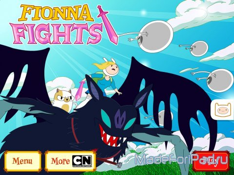 Fionna Fights - Adventure Time. Помашем ножичком.