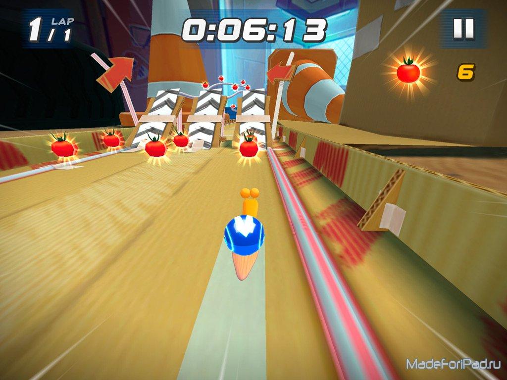 Игра Turbo Racing League для iPad - улиточные гонки | Все
