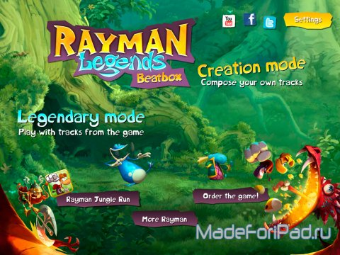 Rayman® Legends Beatbox