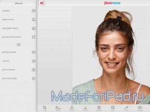 Приложение facetune для ipad отретушируй