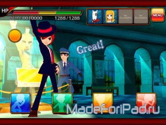 RHYTHM THIEF & the Paris Caper. Хит с Nintendo 3DS теперь и на iPad