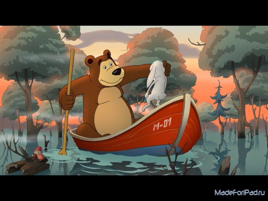 как скачать маша и медведь на айпад