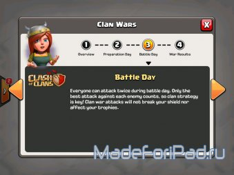 Clash of Clans. Клановые войны