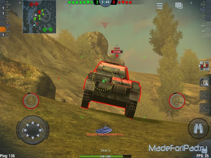 World of Tanks: Blitz - танки приходят на iPad!