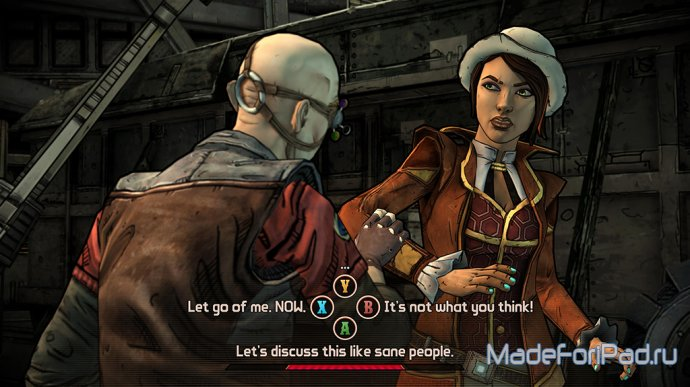 Анонс Tales from the Borderlands для iPad. Рис и Фиона на Пандоре