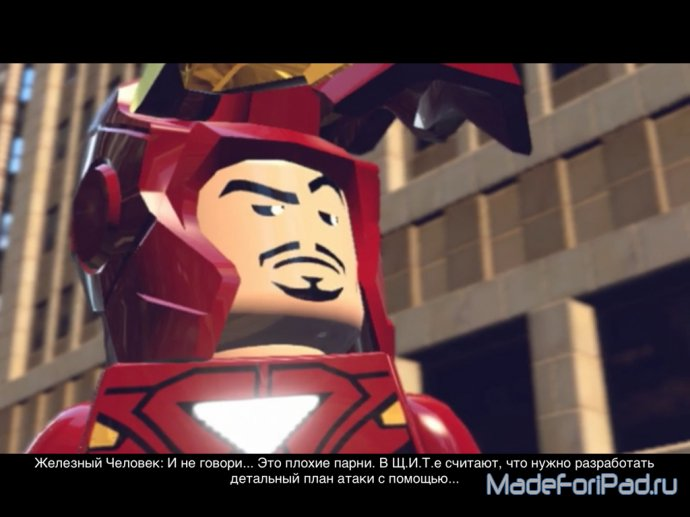 Обзор LEGO Marvel Super Heroes: Universe in Peril для iPad