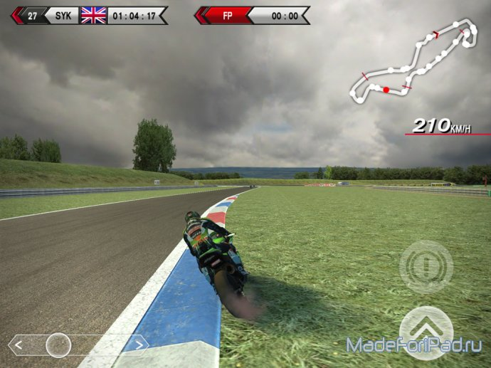 Обзор SBK14 Official Mobile Game для iPad