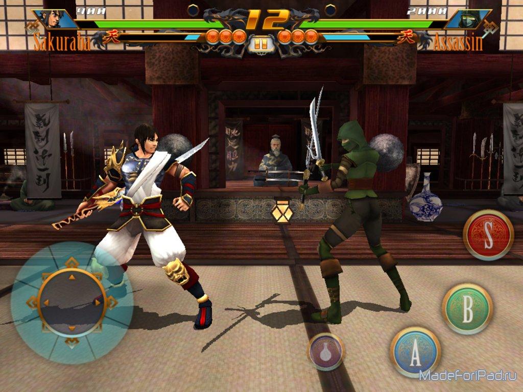 Bladelords - fighting revolution для iPad  Файтинг на движке