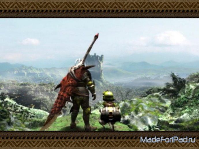 Обзор MONSTER HUNTER FREEDOM UNITE для iPad