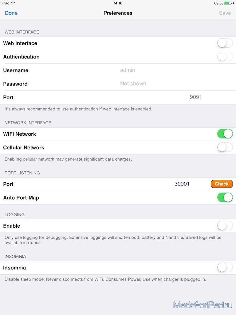 Качаем торренты на iPad без джейлбрейка! iTransmission | Все для iPad
