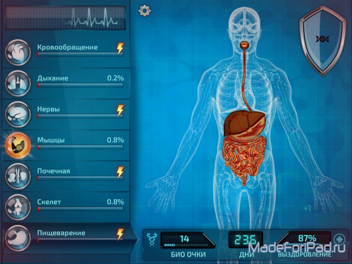 Обзор игры Bio Inc. - Biomedical Plague для iPad