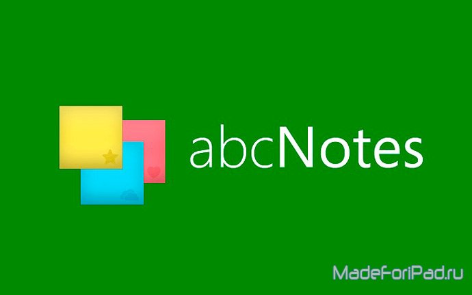 abc Notes - Checklist & Sticky Note Application