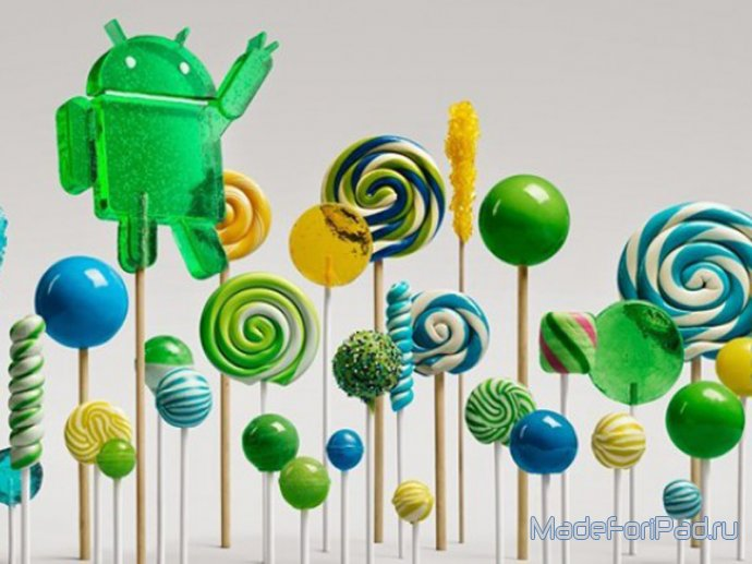 ОФФТОП Выпуск 54. Nexus 6, Nexus 9, Nexus Player и Android 5.0 Lollipop