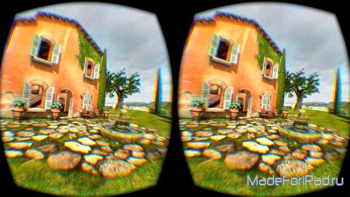 Полный сообщение шлема виртуальной реальности Oculus Rift DK2