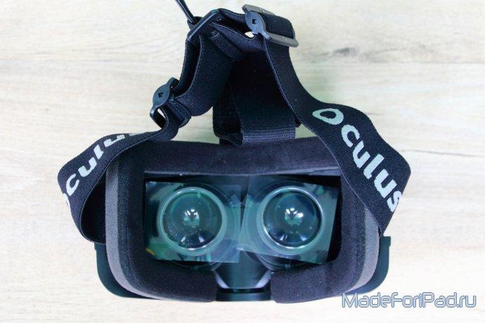 Полный изложение шлема виртуальной реальности Oculus Rift DK2