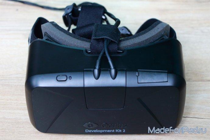Полный панорама шлема виртуальной реальности Oculus Rift DK2