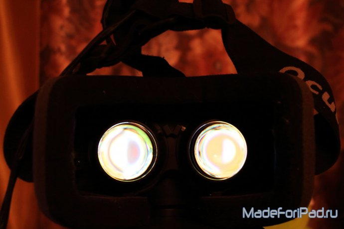 Полный поле зрения шлема виртуальной реальности Oculus Rift DK2