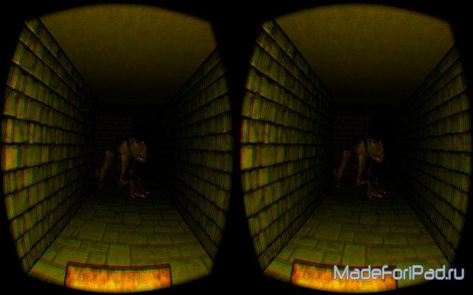 Полный наблюдение шлема виртуальной реальности Oculus Rift DK2