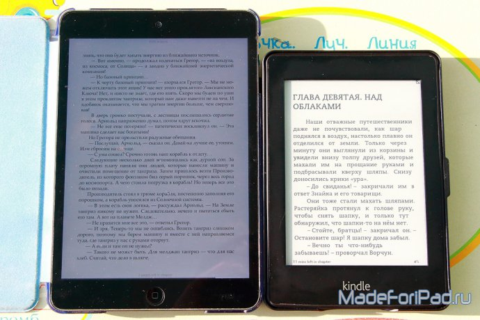 Amazon Kindle Paperwhite - обзор ридера