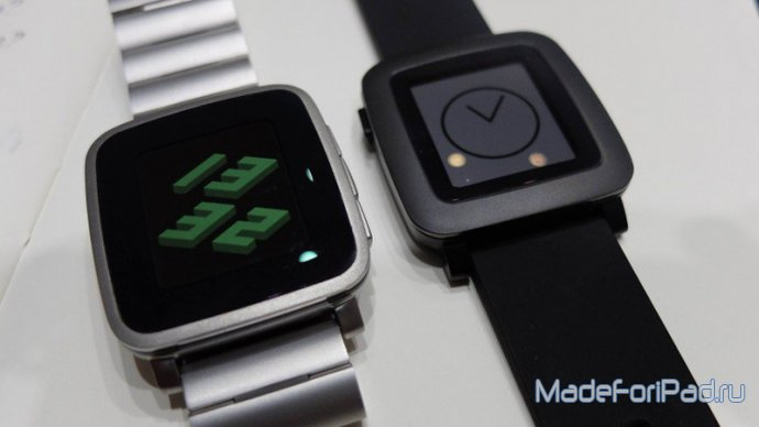 Pebble Time и Pebble Time Steel вместо Apple Watch