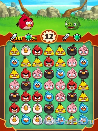 Дайджест App Store Выпуск 39. Angry Birds Fight!