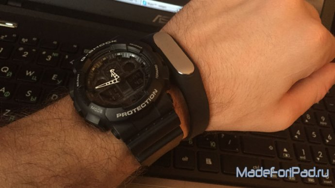 G-Shock и другие Casio + Xiaomi Mi Band – вместо Apple Watch