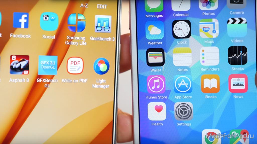 Приложения Андроид Копирующие Иос 7