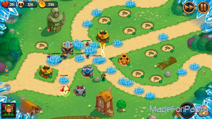 Realm Defense - fun tower defense game