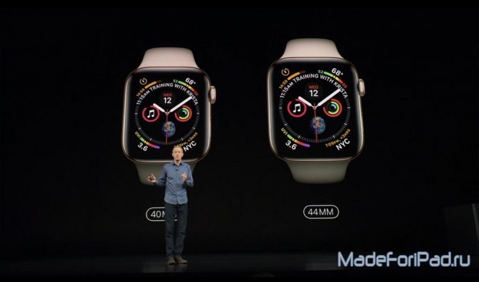 Apple Watch Series 4. Что нового?
